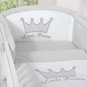 Hoofdbeschermer Little Prince/Princess Grijs