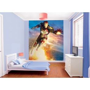 Iron Man Fotobehang (Walltastic)