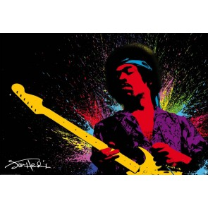 Jimmy Hendrix Fotobehang (Wallpaper)