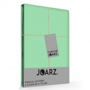 Joarz Percal Kussenslopen Green it up (2stuks)