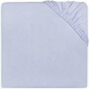 Jollein Hoeslaken Katoen Babyblauw 60x120cm