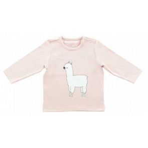 Jollein Shirt Lange Mouw 62/68 Lama Blush Pink