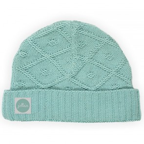 Jollein Babymuts Diamond Knit Vintage Green