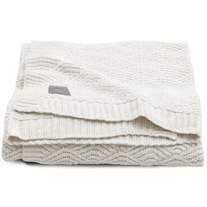 Jollein Deken 75x100cm River Knit Cream White