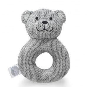 Jollein Rammelaar Natural Knit Bear Grey