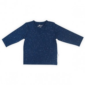 Jollein Shirt Lange Mouw 62/68 Speckled Blue