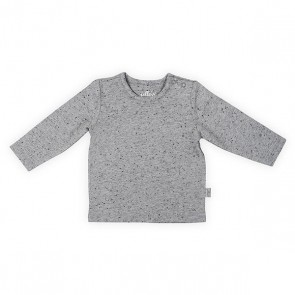 Jollein Shirt Lange Mouw 74/80 Speckled Grey