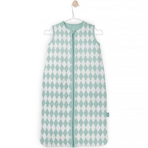 Jollein Slaapzak Winter Diamond Check Vintage Green 110cm