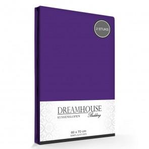 Kussenslopen Paars Dreamhouse (2-stuks)