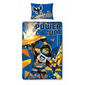 Kinderdekbedovertrek Nexo Knights Power