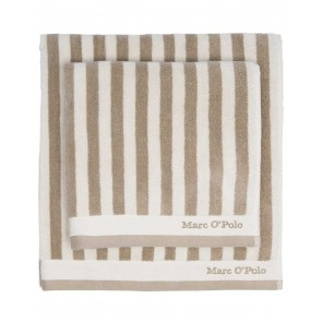 Marc O'Polo Badgoed Classic Stripe Beige & Ecru