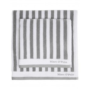 Marc O'Polo Badgoed Classic Stripe Grey & White