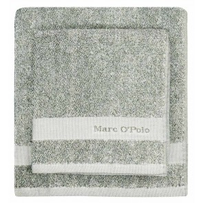 Marc O'Polo Melange Green & Off White