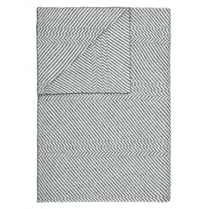 Marc O'Polo Plaid Rik Grey 130 x 170 cm