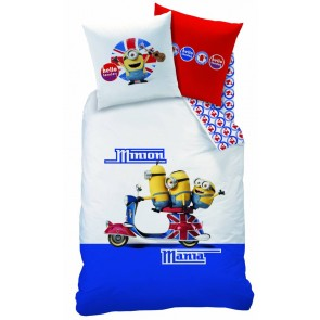 Dekbed Minions Despicable Skooter 3272760431838
