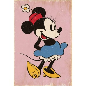 Minnie Mouse Fotobehang (Wallpaper)