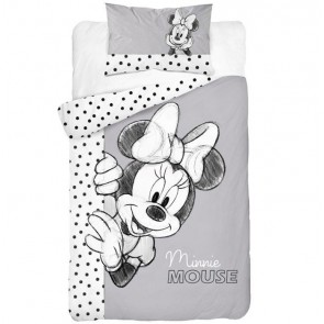 Minnie Mouse Peuterdekbed Look Here