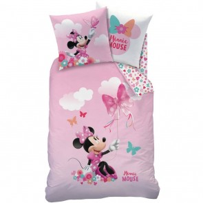 Minnie Mouse Dekbedovertrek Papillon Roze