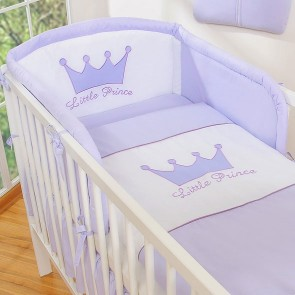 Bedomrander Little Prince/Princess Paars