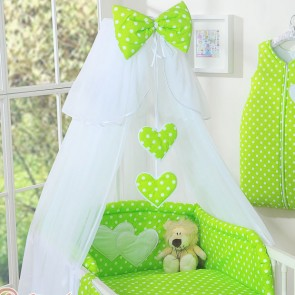 My Sweet Baby Sluier Chic Voile Stip/Lime