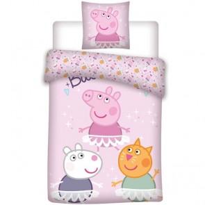 Peppa Pig Dekbedovertrek Funny