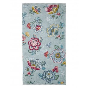 Pip Studio Baddoek Berry Bird Blue 55x100cm