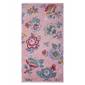 Pip Studio Baddoek Berry Bird Pink 55x100cm