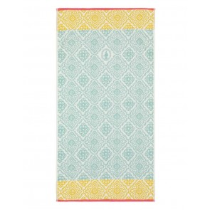 Pip Studio Baddoek Jacquard Check Light Blue 55x100cm
