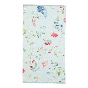 Pip Studio Douchelaken Hummingbirds Blue 70x140cm