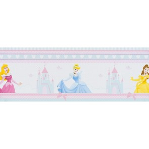 Princess Disney Behangrand Pastel