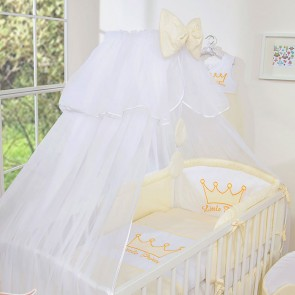 3-Delig Bedset Little Princess Voile Ecru