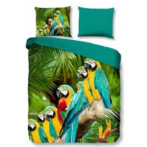 Pure Dekbedovertrek Parrots