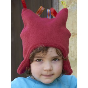 Buggy Snuggle Kindermuts Red Toggles S