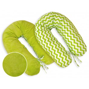 Voedingskussen XL Chevron Lime (Teddy)