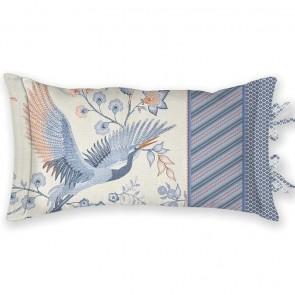 PiP Studio Sierkussen Royal Birds 35x60 cm Blauw