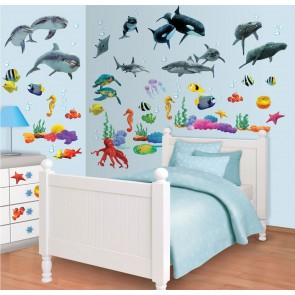 Sea Adventure Muurstickers (Walltastic)