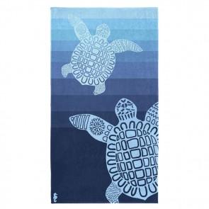 Seahorse Strandlaken Turtle Blue