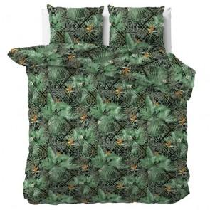 Sleeptime Dekbedovertrek Botanical Mosaic Green