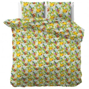Sleeptime Dekbedovertrek Fruit Trend Green