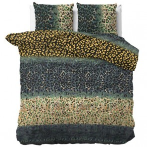 Sleeptime Dekbedovertrek Future Panther Green
