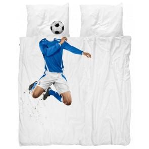 Snurk Beddengoed Soccer Champ Blauw