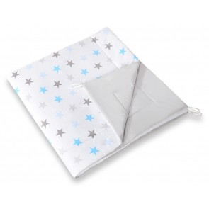 Speelkleed Tipi Tent Stars Grey-Blue
