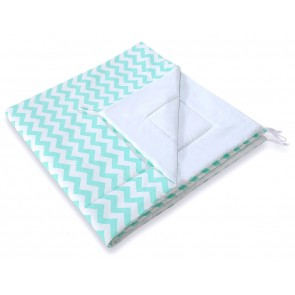 Speelkleed Tipi Tent Chevron Mint