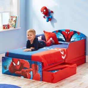 Spiderman Junior Bed