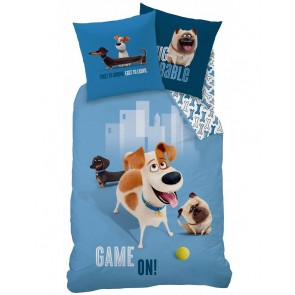 The Secret Life of Pets Dekbedovertrek Max