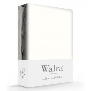 Walra Hoeslaken Percale Offwhite