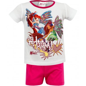 Winx Shortama Wit/Roze