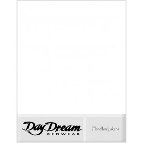 Flanellen Laken Day Dream Wit
