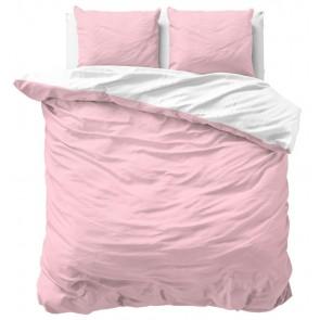 Zensation Dekbedovertrek Twin Face Pink White