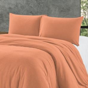 Zensation Dekbedovertrek Bamboo Touch Pastel Orange